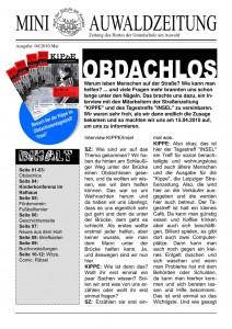 Mini-Auwaldzeitung 04/2010 Titelseite