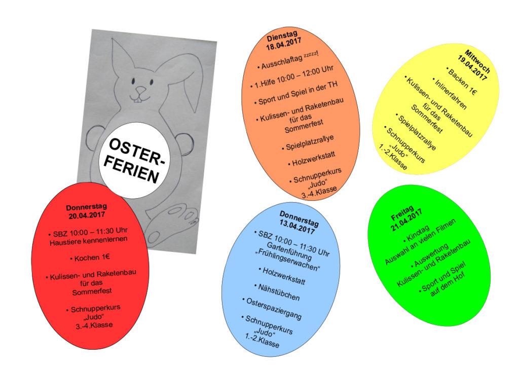 Osterferienplan 2017-2