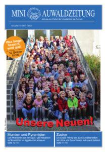 Titelseite Mini-Auwaldzeitung Januar 2019
