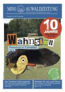 Titelseite Mini-Auwaldzeitung Dezember 2019